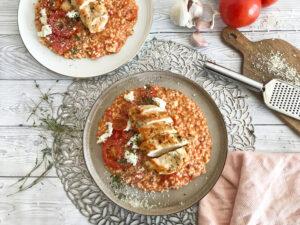 rajčatové rizoto